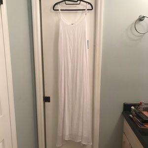 White Cotton Sun Dress